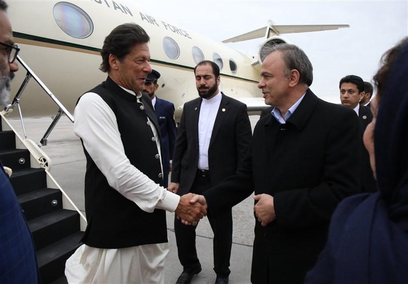 نخستوزیر پاکستان به مشهدمقدس سفر کرد