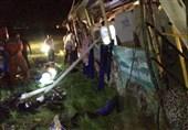 لرستان|علت تصادف مرگبار اتوبوس در دست بررسی است؛ اعزام کارشناسان ناجا به محل حادثه