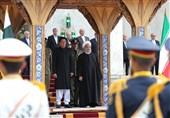 """استقبال رسمی روحانی از """"عمرانخان"""""""