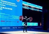 وزنهبرداری قهرمانی آسیا| ناکامی حسینی و باجلانی در کسب مدال یکضرب