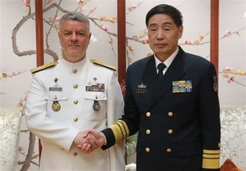 Iranian, Chinese Navy Commanders Discuss Closer Cooperation