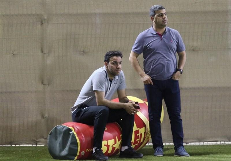 حضور نماینده باشگاه پرسپولیس در ورزشگاه آل مکتوم دبی