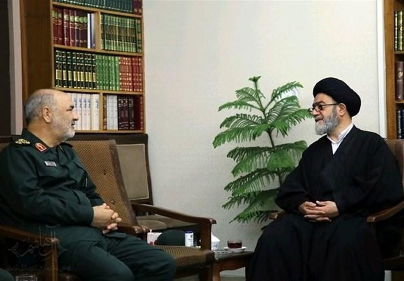 حجتالاسلام آلهاشم انتصاب سرلشکر سلامی به فرماندهی کل سپاه را تبریک گفت