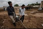 آغاز پاکسازی مناطق سیلزده خوزستان/شرایط برای بازگشت مردم به زندگی فراهم شد+فیلم