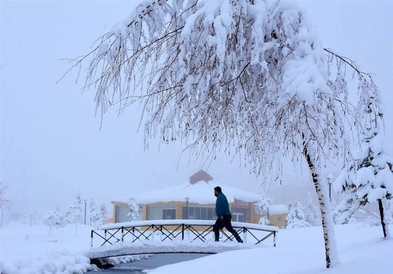 برف اردیبهشتی در ترکیه + عکس