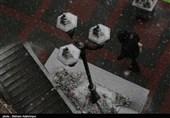بارش برف سنگین بهاری در اردبیل به روایت تصویر