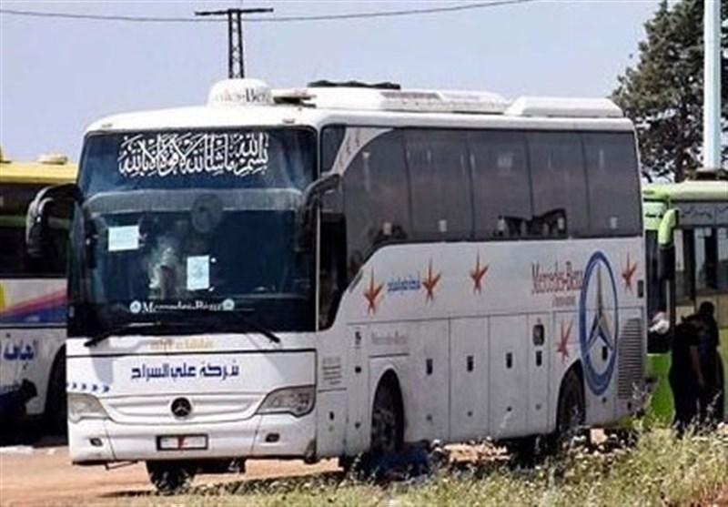 ورود اولین اتوبوسهای حامل زائران عراقی به سوریه پس از 5 سال