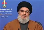 نصرالله: زمانیکه رژیم صهیونیستی جنگ را به نفع خود تمام میکرد سپری شده است