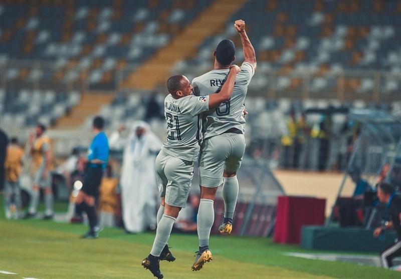 لیگ قهرمانان آسیا| پیروزی جالب الوحده امارات با 4 گل لئوناردو