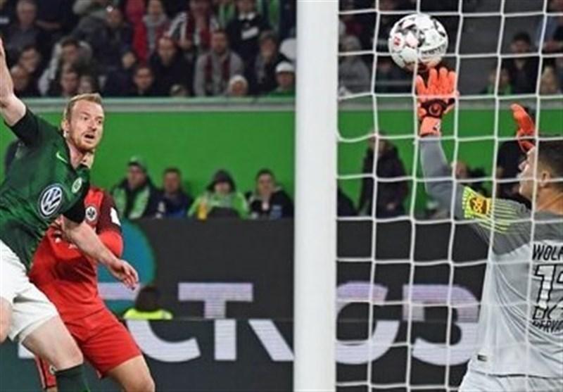 فوتبال جهان اینتراخت فرانکفورت مدعیان حضور در لیگ قهرمانان اروپا را امیدوار کرد