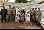 فعالیت گروه جهادی نائبالشهید برای خانواده شهدای سیلزده+عکس و فیلم