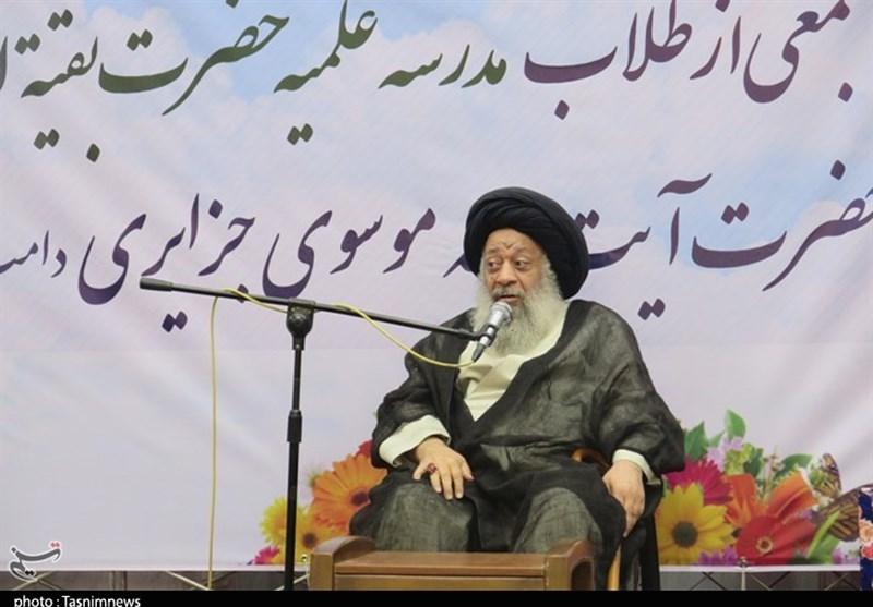 آیتالله جزایری: درس امروز حوزههای علمیه خوزستان حضور در مناطق سیلزده است