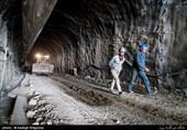 ایلام| حفاری تونل موازی راه کربلا به پایان رسید