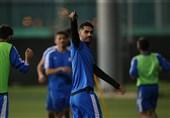 حضور بازیکن استقلال در محل دیدار تیم امید و نفت مسجد سلیمان/ پایان نیمه اول با نتیجه تساوی