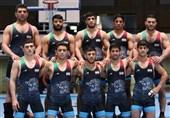 کشتی آزاد قهرمانی آسیا| احسانپور، نخودی، قاسمپور، کریمی و محبی حریفان خود را شناختند