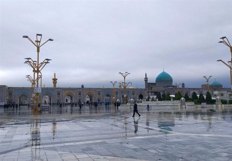 مشهد بارانی