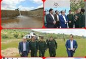 پروژه آبرسانی به مزارع روستای ملک آباد شهرستان ملکشاهی افتتاح شد