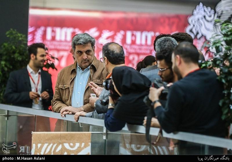 پیروز حناچی شهردار تهران در مراسم ششمین روز سیوهفتمین جشنواره جهانی فیلم فجر