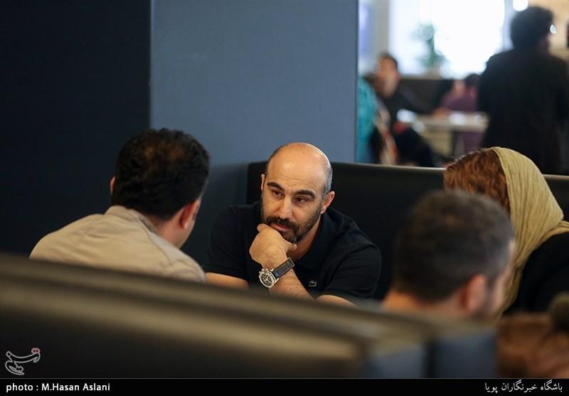 محسن تنابنده بازیگر در ششمین روز سیوهفتمین جشنواره جهانی فیلم فجر