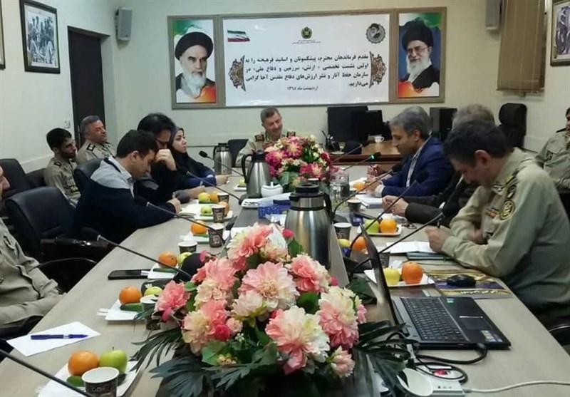 اولین نشست تخصصی «ارتش، سرزمین و دفاع» برگزار شد