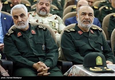 مراسم تودیع و معارفه فرمانده سپاه پاسداران انقلاب اسلامی