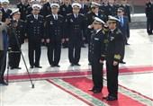 ناوگروه نیروی دریایی ارتش وارد قزاقستان شد