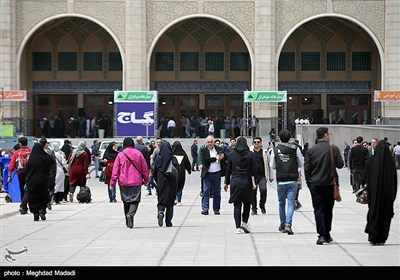 فعاليات معرض طهران الدولي للكتاب