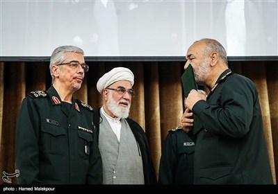 اعطای حکم فرماندهی کل سپاه پاسداران انقلاب اسلامی به سرلشکر حسین سلامی