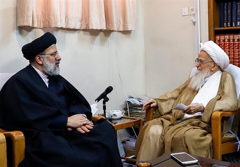 وعده رئیسی به مراجع عظام تقلید درباره اجرای اصلاحات و تحول در قوهقضاییه