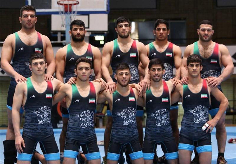 Iran Freestyle Team Wins Asian Wrestling Championships