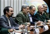 العمید حاتمی یلتقی نظیره الروسی..موسکو تؤکد على الدور المهم للتعاون مع طهران