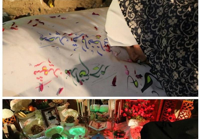استخوان های سوخته شهید مجید قربانخانی در آغوش مادر+فیلم