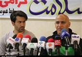 بوشهر| علیرضا منصوریان در نشست خبری دیدار با پارس جنوبی شرکت نکرد