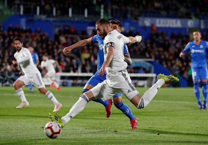 فوتبال جهان|رئال مادرید در خانه ختافه امتیاز از دست داد