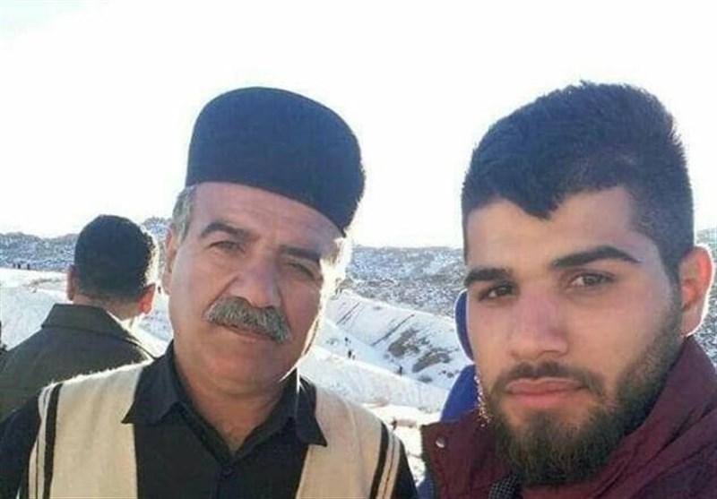 وداع با پدر شهید سعید کریمی در روستای هفت شهیدان مسجدسلیمان + فیلم
