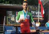 دوچرخهسواری قهرمانی آسیا  گنجخانلو اولین طلایی ایران