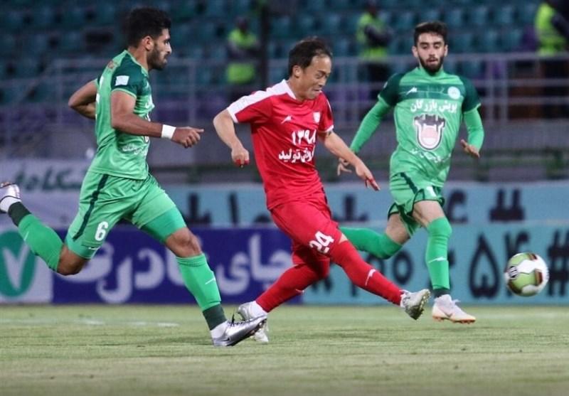 لیگ برتر فوتبال  تراکتورسازی همچنان روی دور شکست، ذوبآهن کماکان بیرحم/ رشید علیه اشکان!