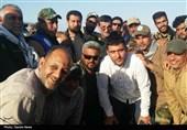 خوزستان| فرمانده نیروی دریایی سپاه از روستای سیلزده «صراخیه» شادگان بازدید کرد