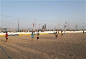 لیگ برتر فوتبال ساحلی| پیروزی پرگل تیم دریانوردان بوشهر در مقابل تیم شهریار ساری
