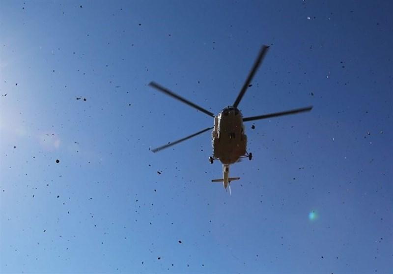 گزارش| سقوط بالگرد در مرودشت تایید نشد / حادثه یک آتشسوزی جزئی بود / برخورد پلیس با عامل پخش کلیپ