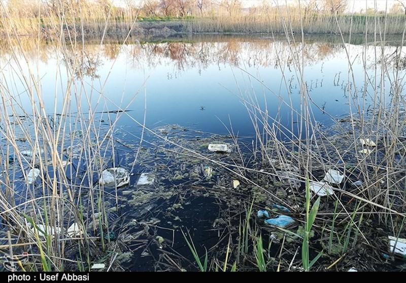 """طبیعت زیبای """"دانا بوغان"""" ارومیه در تسخیر زباله+تصاویر"""