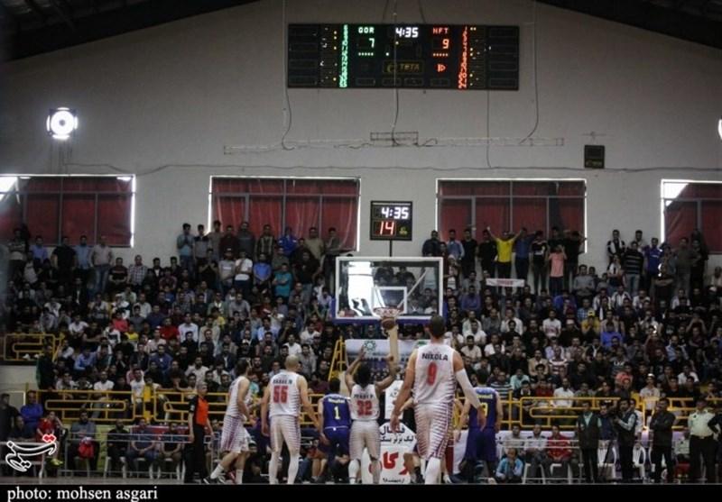 لیگ برتر بسکتبال؛ دومین پیروزی تیم بسکتبال شهرداری گرگان