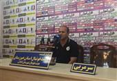 مربی نفت مسجدسلیمان: نتوانستیم 4 پاس به هم بدهیم/گوهری بهترین بازیکن ما بود