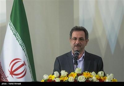 سخنرانی انوشیروان محسنی بندپی استاندار تهران در مراسم افتتاح 5 هزار و 200 مسکن مهر