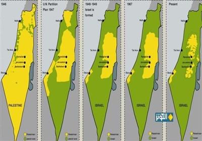 گزارش| طرح موسوم به الحاق کرانه باختری و دره اردن چیست؟ سناریوهای احتمالی+نقشه