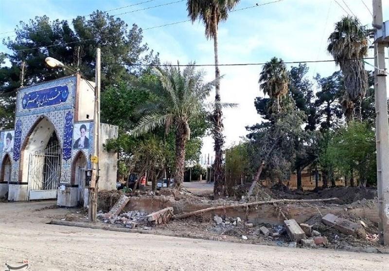 وضعیت شهرداری پلدختر 27 روز پس از سیل + فیلم