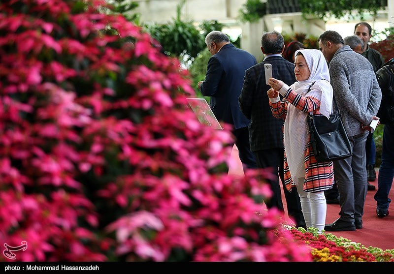 Tehran Hosts 17th International Flowers Exhibition