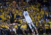 پلیآف لیگ NBA  پیروزی میلیمتری گلدن استیت مقابل هیوستون