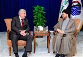 دیدار سفیر روسیه در بغداد با حکیم/ تاکید بر ضرورت حضور عراق در مذاکرات آستانه