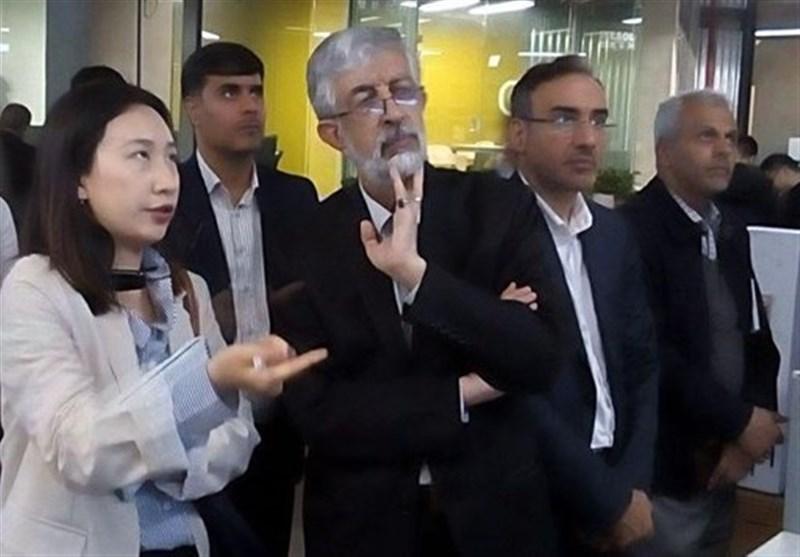 بازدید هیئت عالیرتبه مجمع تشخیص مصلحت نظام از پارک فناوری اطلاعات چین